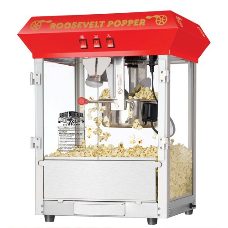Popcorn Machine with serving for 50 people