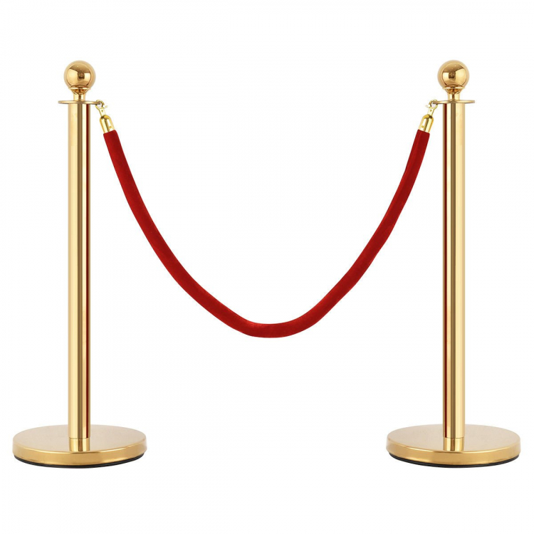 Brass Stanchion (Only) / Gold