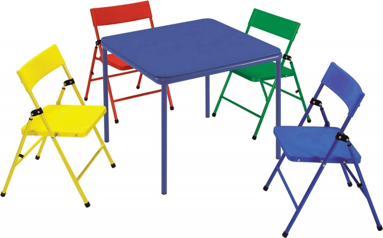 5-Piece Kid Table and Chair Set