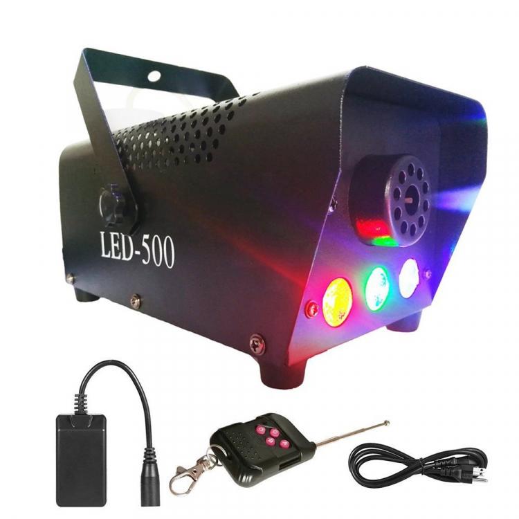 Haze Fog Machine with Lights LED