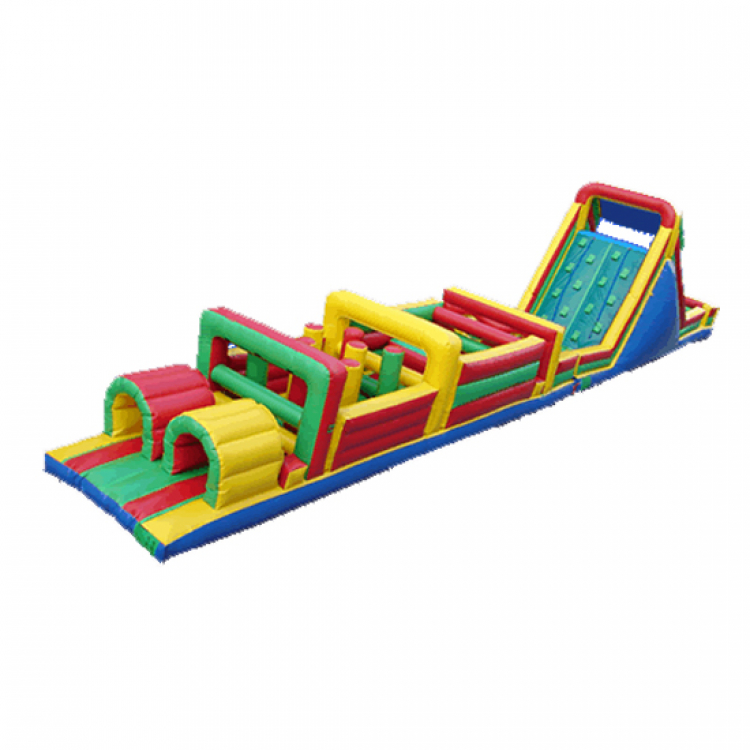 70′ Inflatable Obstacle Course