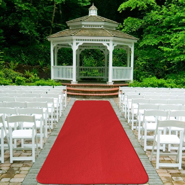 Red Carpet Aisle Runner – 4′ x 30′