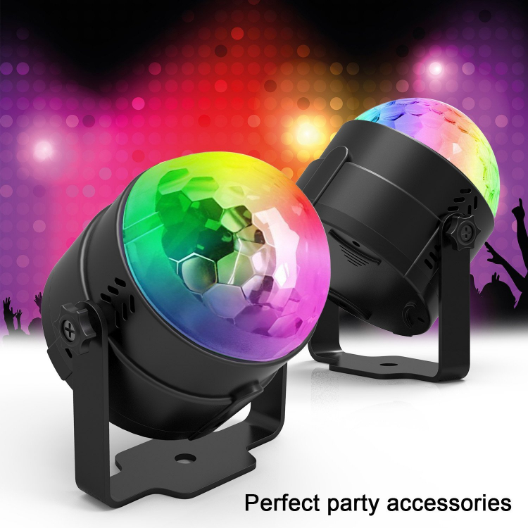 Party Lights Sound Activated with Remote Control