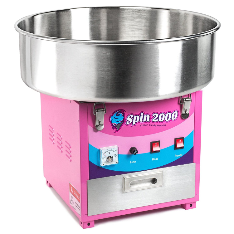 Cotton Candy Machine with serving for 50 people