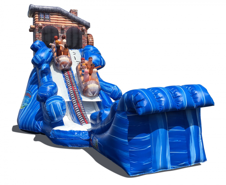 23′ North Woods Flume Water Slide