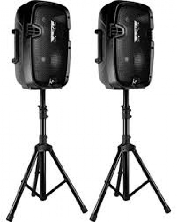 DJ Speakers With Stands
